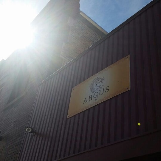 Photo taken at Argus Brewery by Matt W. on 9/27/2014