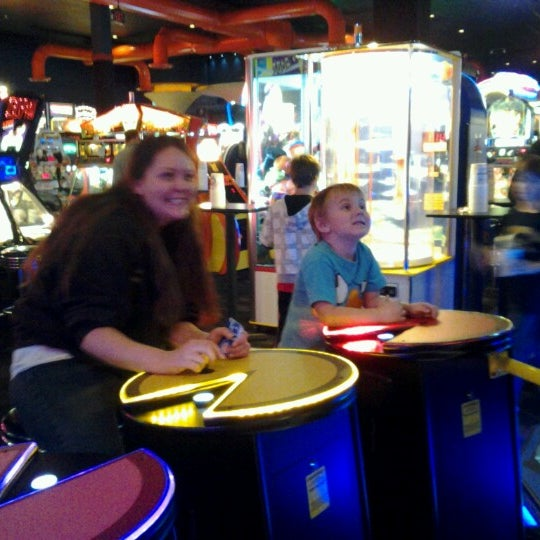 Photo taken at Dave & Buster's by Christina S. on 10/17/2012