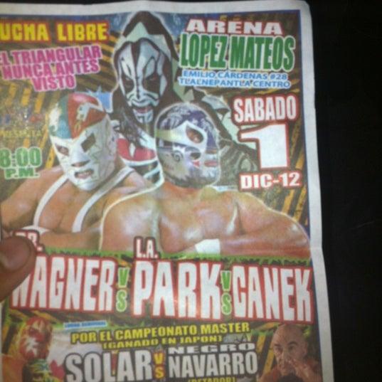 Photo taken at Arena Adolfo Lopez Mateos by Alex L. on 12/2/2012