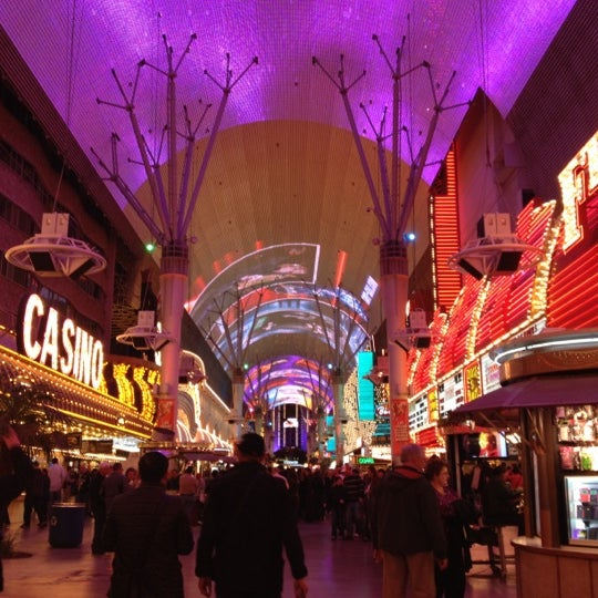 Photo taken at Fremont Street Experience by Shanna M. on 12/12/2012