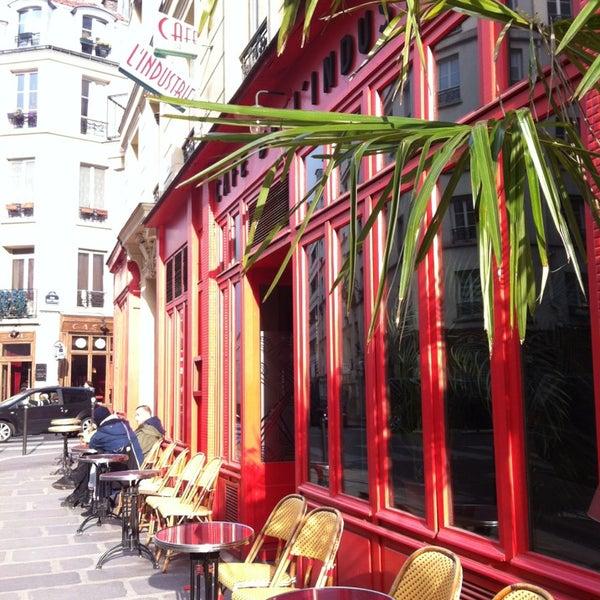 Photo taken at Café de l'Industrie by Céline on 4/8/2013