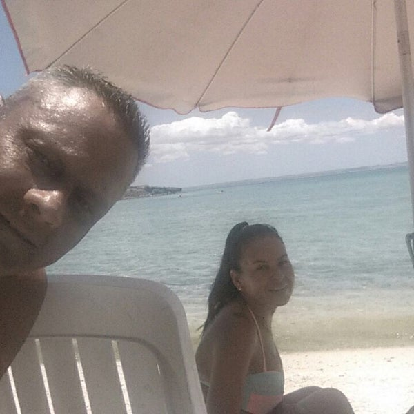 Photo taken at Playa Pichilingue by Denisse M. on 7/13/2016