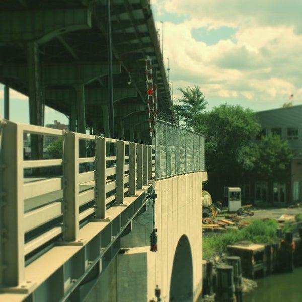 Photo taken at Hamilton Avenue Bridge by Darius A. on 8/5/2013