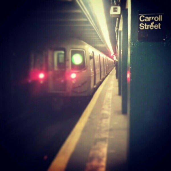 Photo taken at MTA Subway - Carroll St (F/G) by Darius A. on 2/20/2013