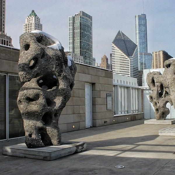 Photo taken at Sculpture Garden - Art Institute of Chicago by Darius A. on 2/16/2014