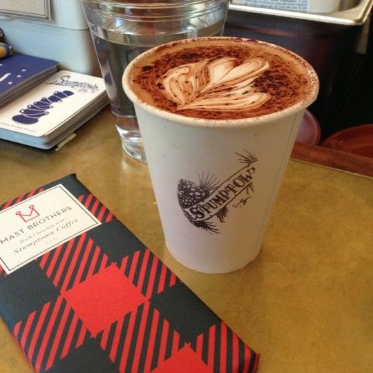 Photo taken at Stumptown Coffee Roasters by Lady Z. on 12/13/2012