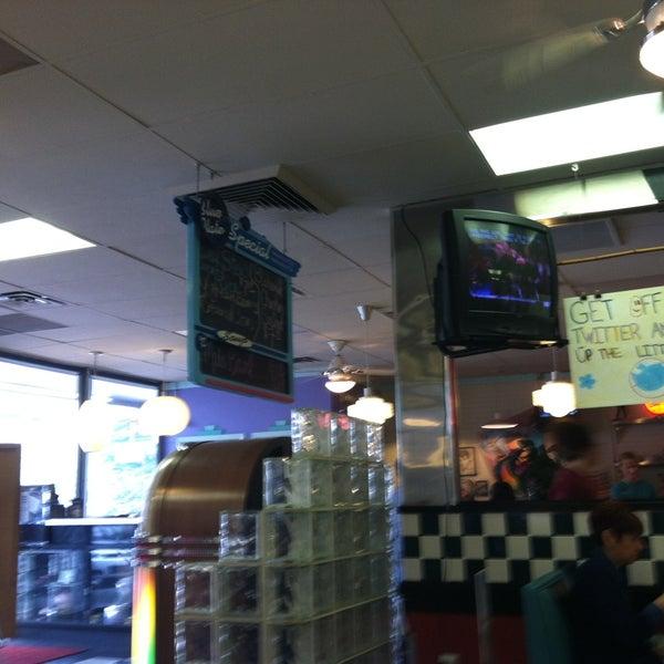 Photo taken at Hub City Diner by td2bd D. on 4/14/2013