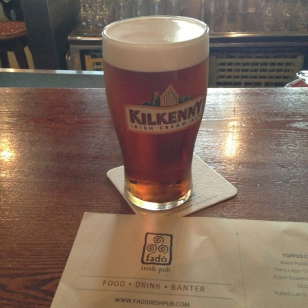 Photo taken at Fado Irish Pub & Restaurant by Tina C. on 5/20/2013