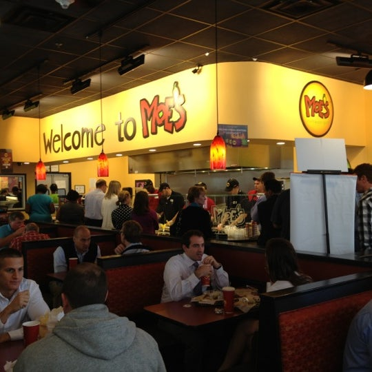 Photo taken at Moe's Southwest Grill by Greg V. on 10/22/2012