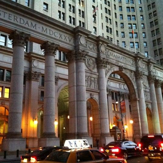 Photo taken at NYC Municipal Building by David L. on 10/6/2012