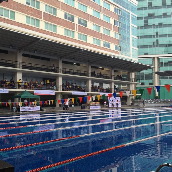 photo taken at uphs olympic swimming pool by liza s on olympic swimming pool 2015