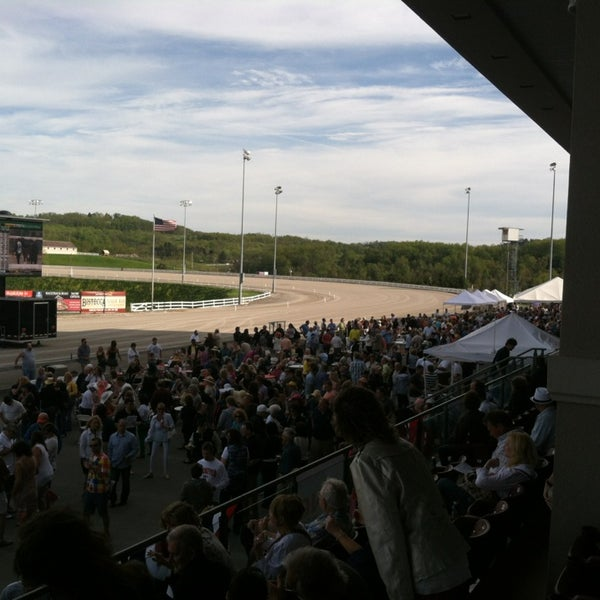 Photo taken at Meadows Racetrack & Casino by Jason s. on 5/4/2013