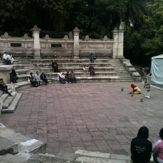 Photo taken at Bosque de Chapultepec by Susana M. on 11/3/2012