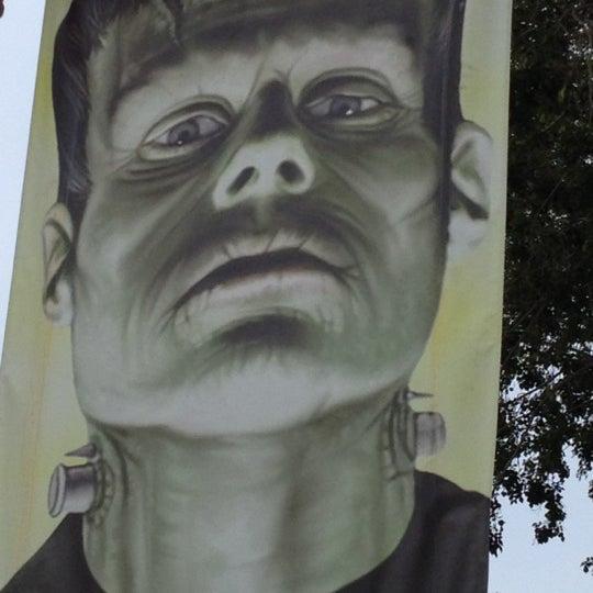 Photo taken at Beetlejuice's Graveyard MashUp by Caroline H. on 10/17/2012