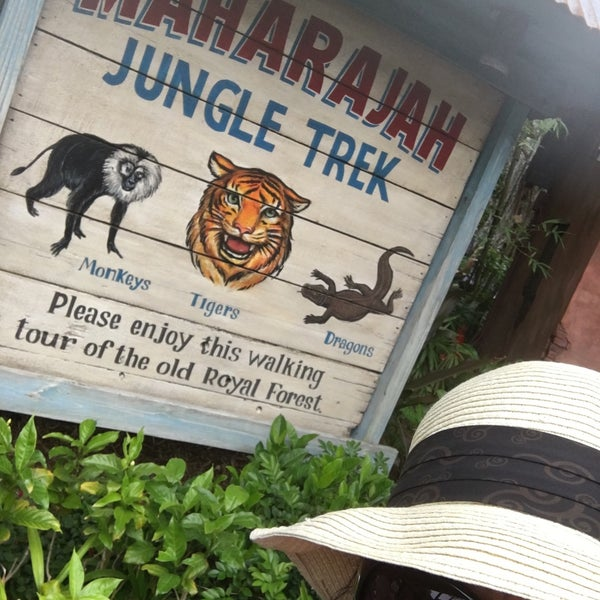 Photo taken at Maharajah Jungle Trek by Jean M. on 3/25/2017