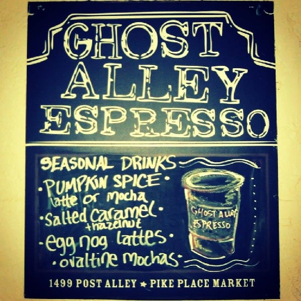 Photo taken at Ghost Alley Espresso by Caroline B. on 12/16/2013