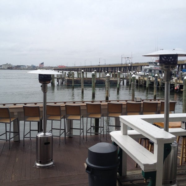 Photo taken at Marina Deck Resturant by Constanza M. on 4/18/2014