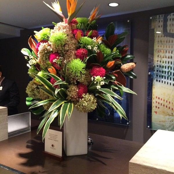 Photo taken at DoubleTree by Hilton Hotel Metropolitan - New York City by Derrick J. on 9/30/2014