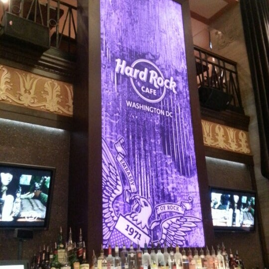 Photo taken at Hard Rock Cafe Washington DC by Ece E. on 7/25/2013