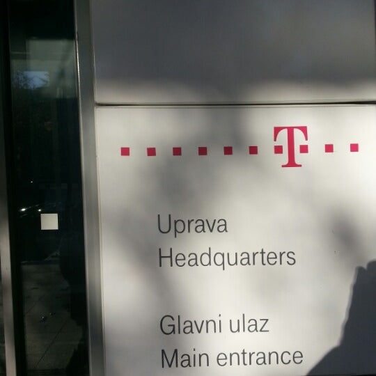 Photo taken at Hrvatski Telekom by Endi G. on 12/3/2012
