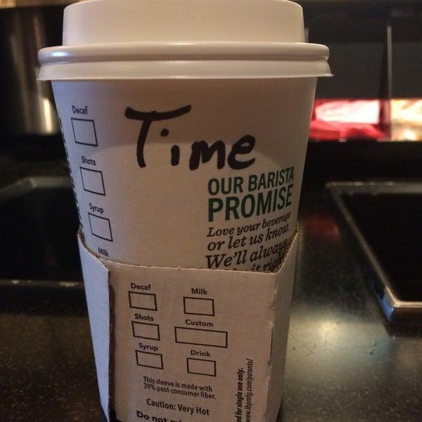 Photo taken at Starbucks by Tímea I. on 5/30/2017