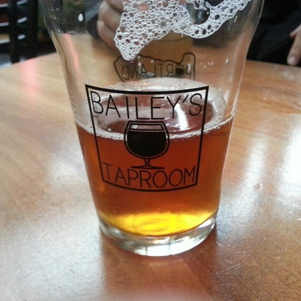 Photo taken at Bailey's Taproom by Tyler P. on 3/3/2013