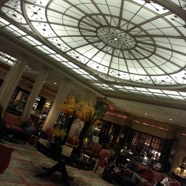 Photo taken at InterContinental New York Barclay by Elissa S. on 4/26/2013