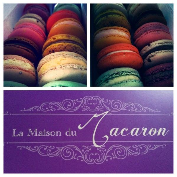 Photo taken at La Maison du Macaron by Diana L. on 3/22/2013