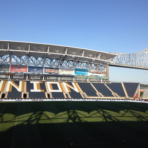 Photo taken at Talen Energy Stadium by Jamie C. on 7/6/2013