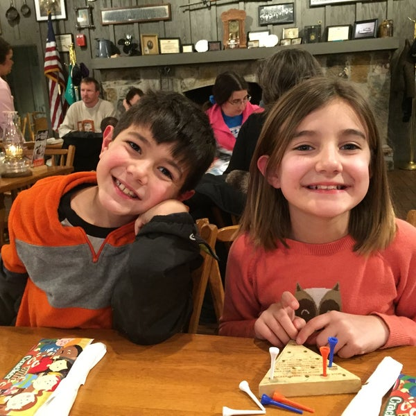 Photo taken at Cracker Barrel Old Country Store by Stacy C. on 2/18/2016