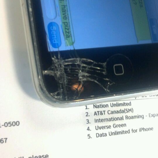 Photo taken at Verizon by Greg W. on 4/22/2012