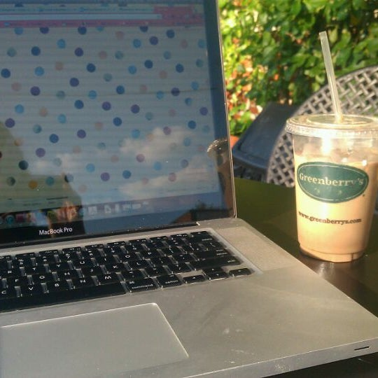 Photo taken at Greenberry's Coffee & Tea by Melissa D. on 6/15/2012