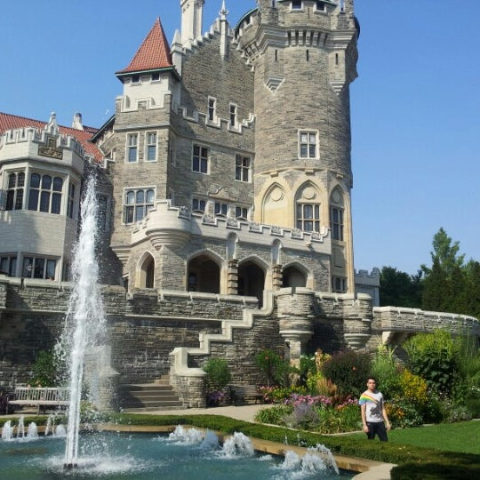 Photo taken at Casa Loma by Alex F. on 8/31/2012