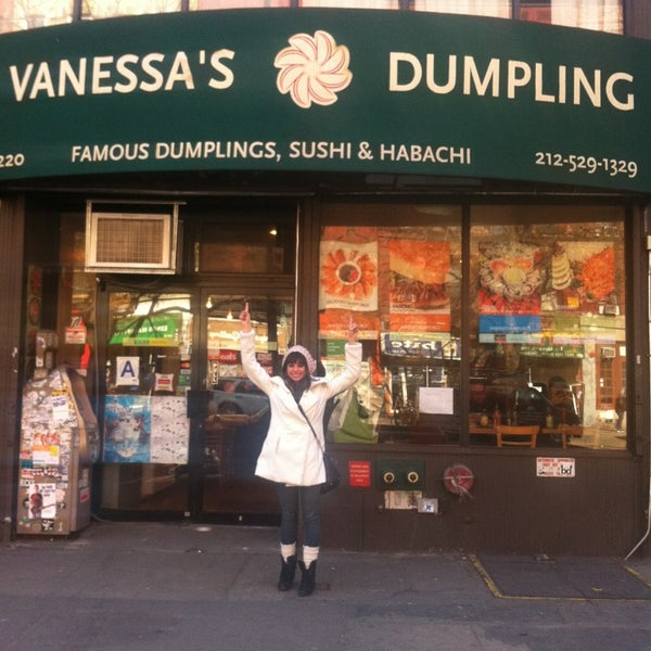 Photo taken at Vanessa's Dumpling House by Vanessa V. on 3/4/2013