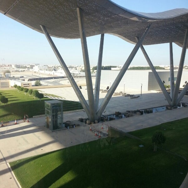 Photo taken at Qatar Science and Technology Park by Joost R. on 5/12/2013