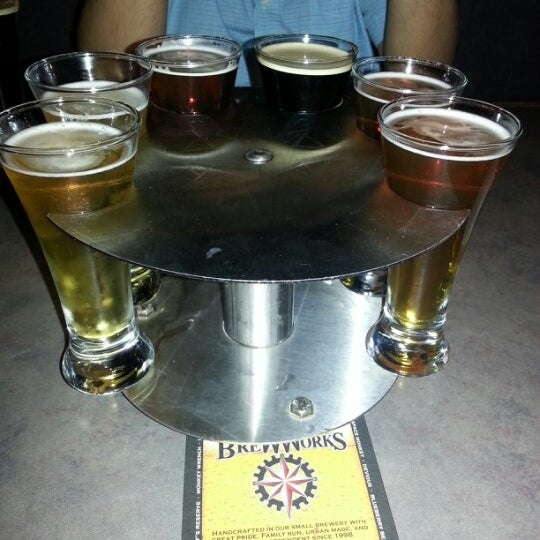 Photo taken at Fegley's Bethlehem Brew Works by Mary D. on 9/22/2012