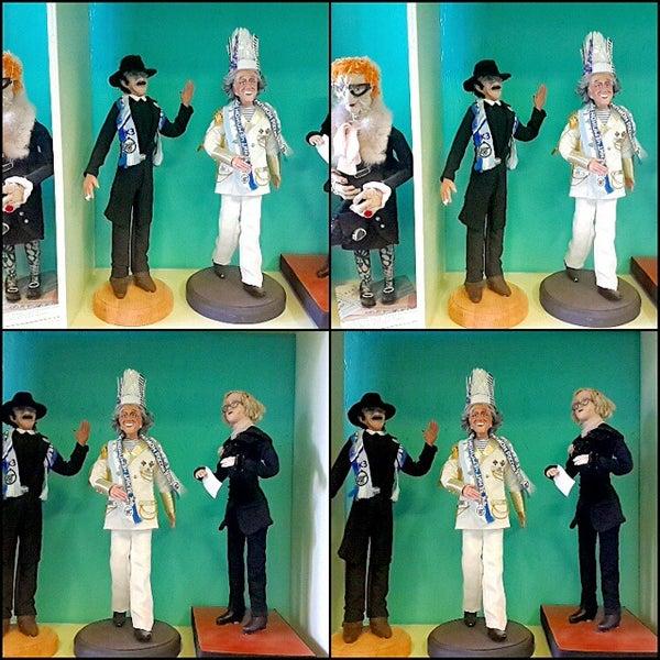 Снимок сделан в Музей кукол пользователем Андрей М. 9/25/2014