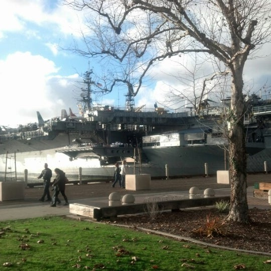 Photo taken at USS Midway Museum by Dave Z. on 1/28/2013