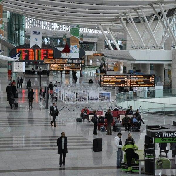 Photo taken at Istanbul Sabiha Gökçen International Airport (SAW) by Ümit Erdoğan Ş. on 11/18/2013