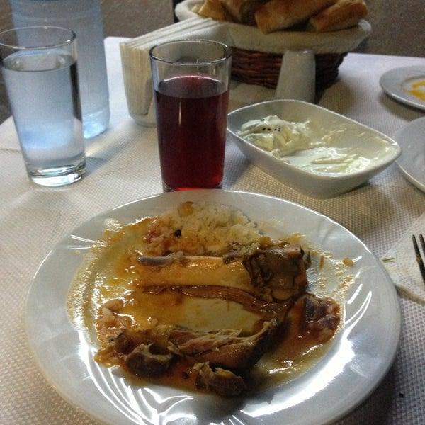 Yemekler bir harika Konya'ya gelindiğinde muhakkak uğranmalı...