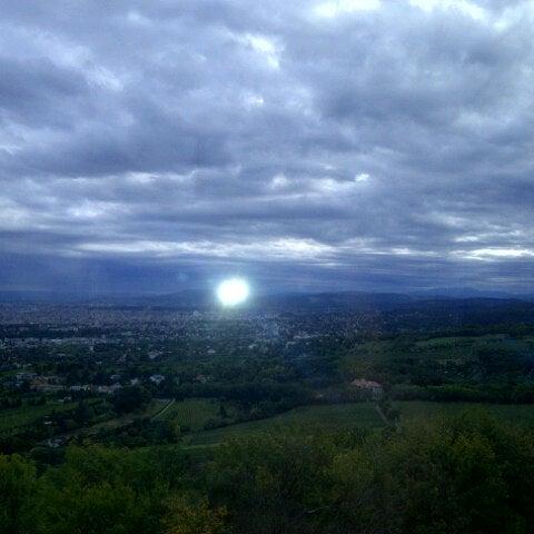 Photo taken at Kahlenberg by Yeliz B. on 9/27/2012