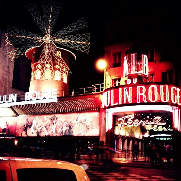 Photo taken at Moulin Rouge by Anna T. on 3/10/2013