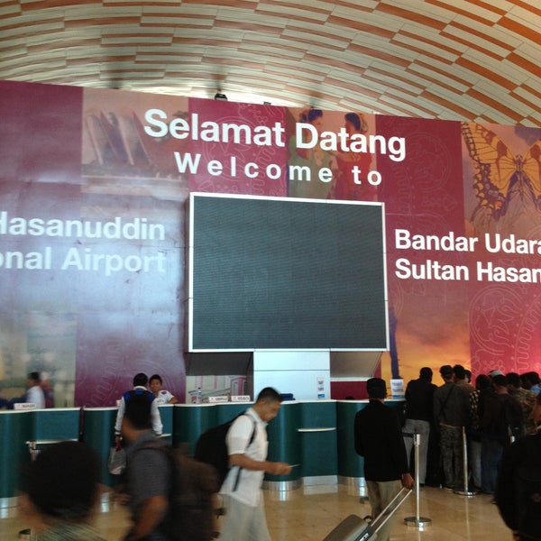 Photo taken at Sultan Hasanuddin International Airport (UPG) by Tommy R. on 4/29/2013