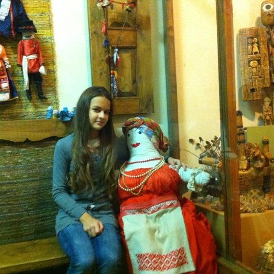 Снимок сделан в Музей кукол пользователем Nastya . 11/9/2012