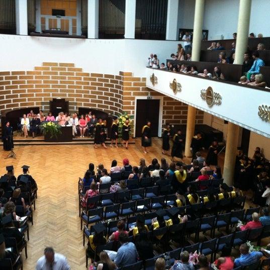 Photo taken at University of Latvia by Elza P. on 6/25/2013