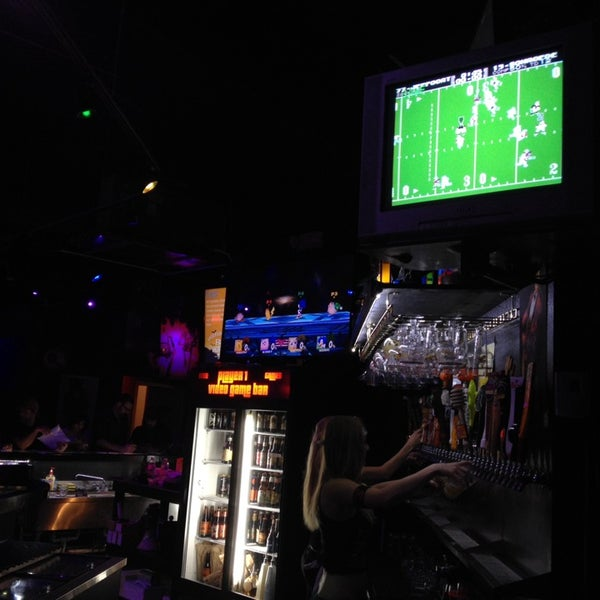 Photo taken at Player 1 Video Game Bar by James C. on 9/28/2013