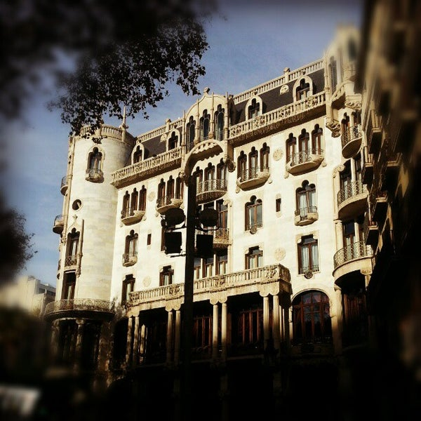 Photo taken at Hotel Casa Fuster by Laia M. on 12/27/2012