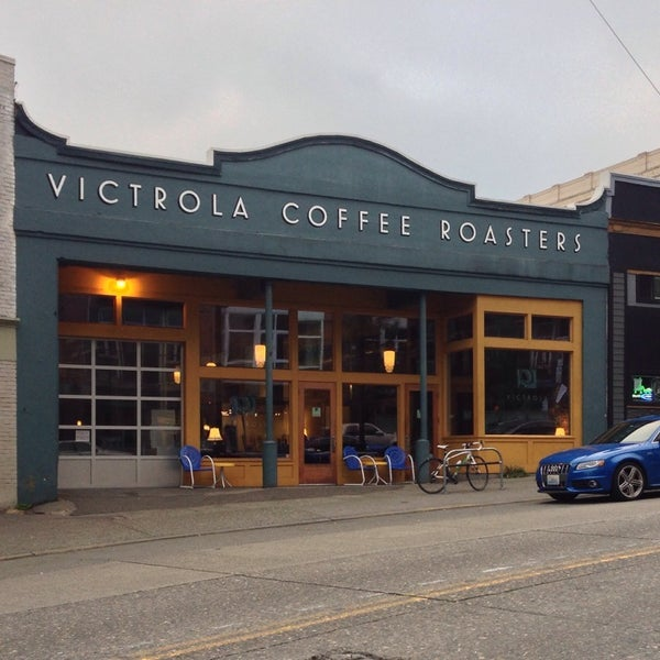 Photo taken at Victrola Cafe and Roastery by Johngwon on 9/14/2013