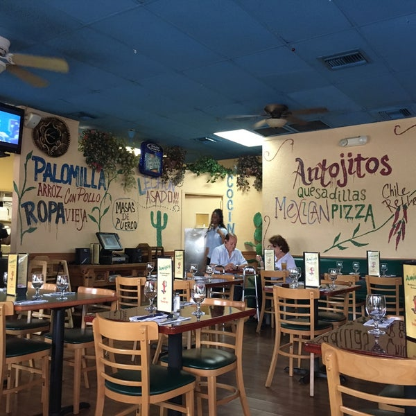 Photo taken at Amigos Mexican & Spanish Restaurant by Erik on 6/10/2016