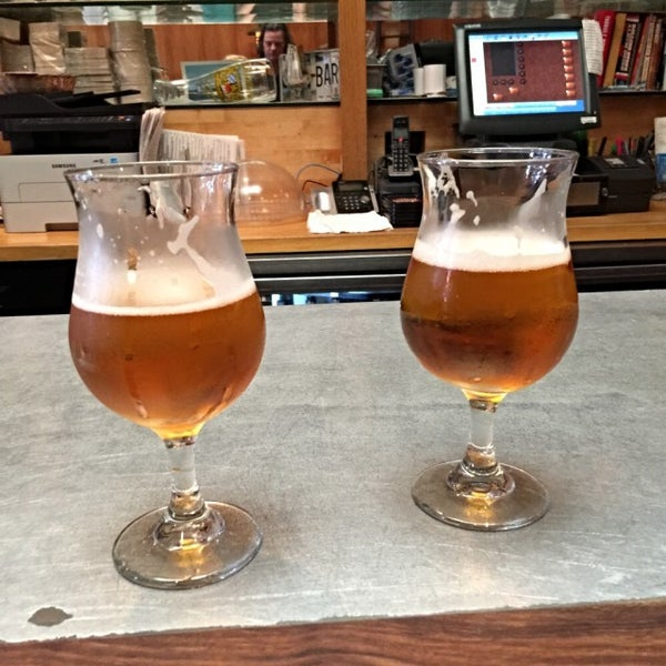 Photo taken at The Library Alehouse by Tom K. on 8/7/2015